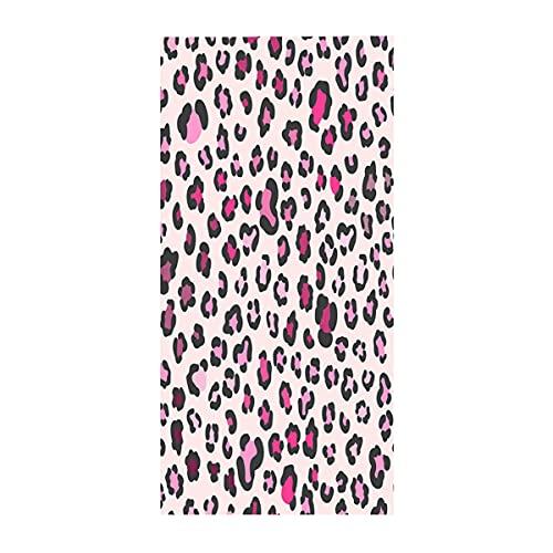 Toalla de Playa Grande Microfibra Absorbente de Secado Rápido XL XXL Toalla Deportiva Manta Fina Leopardo Sexy 3D Camuflaje Arte Abstracto Toalla de Baño Temática para Niña Mujer (Multi 8,150x180 cm)
