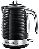 3 KW premium plastic textured design, complemented by sleek chrome accents with lift off lid and an ideal pour spout Ideal for those with busy days, boiling one cup in just 45 seconds, boiling one cup versus 1 Litre Easy-view water window with delica...