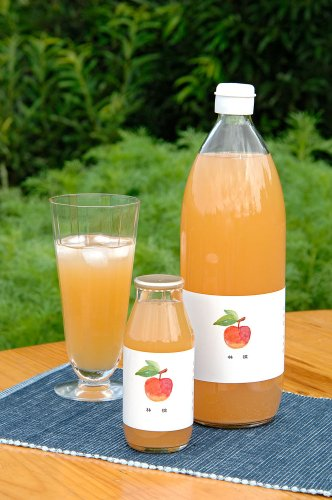 【健康村コロポックルの里から】 仁木町で誕生した黄金の樹液 リンゴジュース(1000ml×12本セット) [ストレートジュース][りんごジュース]