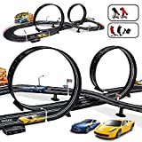 MAOXIAN Kids Toy - Electric Powered Slot Car Race Track Set Boys Toys for 3 4 5 6 7 8-16 Years Old Boy Girl Best Gifts