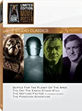 Classic Quad Set 18: (Battle for the Planet of the Apes / The Day The Earth Stood Still / The Neptune Factor /The Poseidon Adventure)
