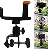 Universal Camera Car Window Clamp Mount for Digital Compact SLR, DSLR, Video Cameras, Gopro Action Cameras, Binoculars, Monoculars, Night Vision Scopes, Telescopes and Cell Phone