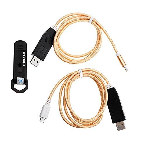 MASUNN Gsmjustoncct Eft Dongle En Dongle Seriële Met 2 In 1 Kabel Voor Beschermde Software Voor Ontgrendelen En Reparatie Slimme Telefoons Gereedschap