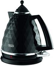 De'Longhi Brilliante Kettle, anti-scale filter, 1.7 Liters, 360° swivel base, KBJ3001BK, Black