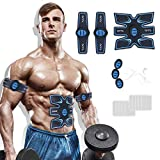 Muscle Trainer EMS Portable Rechargeable Gym Workout Training and Home Office Fitness Equipment
