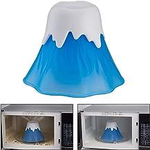 Macabolo Limpiador de microondas Nsteam Cleaner, Erupting Vulcan, alta temperatura, herramientas para el hogar y la oficina
