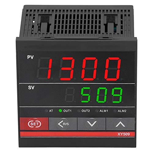 SALUTUYA Termostato Digital Universal XY509 Controlador de Temperatura Universal Relé de calefacción y refrigeración ABS para Control de Flujo de presión de Temperatura