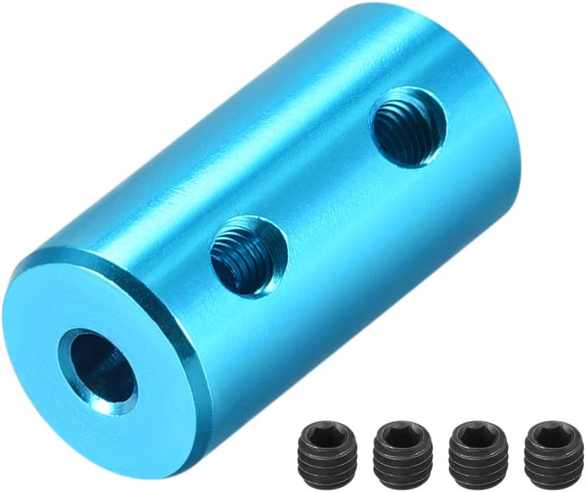 uxcell 2mm to 3mm Bore Rigid Bombing free shipping Aluminum Set Coupling L20XD10 Screw ! Super beauty product restock quality top!