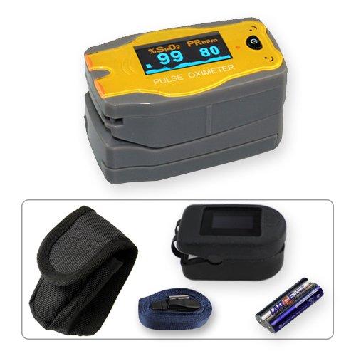 OxyWatch MD300C5 - Pulsímetro de dedo infantil con pantalla led