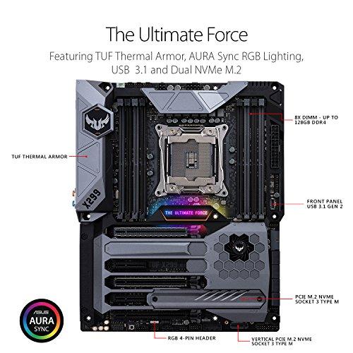 Build My PC, PC Builder, ASUS TUF X299 Mark 1