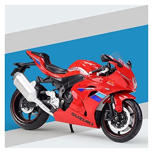 Boutique 1:12 Aleación De Simulación para Yamaha YZF R1 Máquina Pesada Modelo De Aleación De Simulación De Motocicleta Producto Terminado con Base (Color : 8)