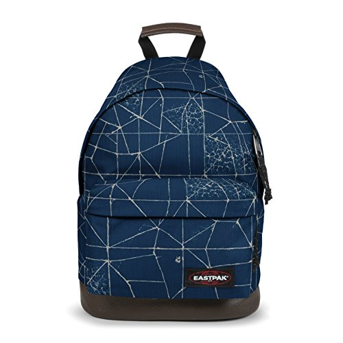 Eastpak Wyoming Zaino, 40 cm, 24 L, Blu (Cracked Blue)