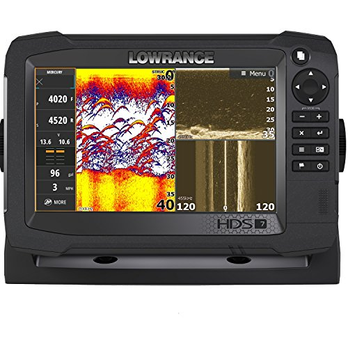 Lowrance Navico HDS-7 Carbon Insight Mid/High 3-D Transducer Bundle