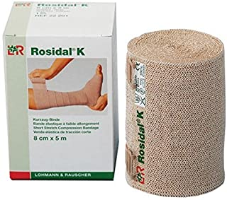 Lohmann & Rauscher Rosidal K Short Stretch Compression Bandage, For Use In The Management of Acute & Chronic Lymphedema, E...