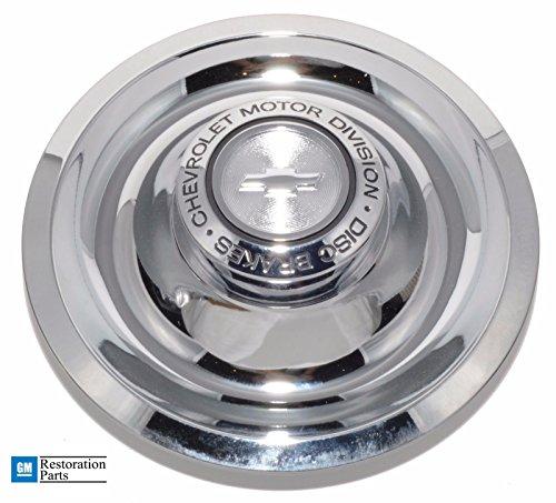 GM Restoration Chrome RALLY Wheel DISC BRAKES Flat Center Cap NEW Replacement for CHEVROLET CORVETTE CAMARO CHEVELLE. Chevrolet Motor Division Disc Brakes