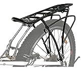 P4B | Fahrrad Gepäckträger hinten - verstellbar für 26/28 / 29 Zoll | Rahmenbefestigung mit Befestigungsmaterial | Inkl. 2X extra Schellen für zusätzliche Montagemöglichkeiten
