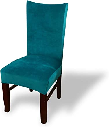 Amazon.fr : bleu canard - Housses de chaise de salle à manger ...