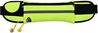 ZHOUJJ Waist Bag Minimalist Stylish Style Multifunctional Outdoor Sports Running Hiking Riding Travelling Belt Sweatproof Waterproof Diving Material Waist Bag Protective Case for 6 inch Phone with Car