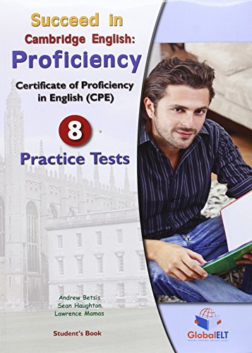 SUCCEED IN CAMBRIDGE ENGLISH PROFICIENCY PRACTICE PACK
