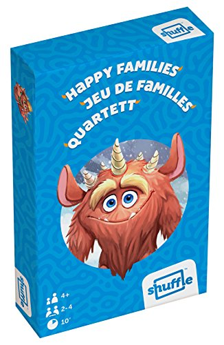 Shuffle Monsters Happy Families - Juego de Cartas