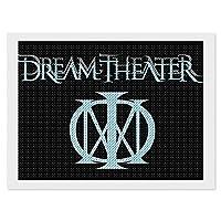 5Dダイヤモンド塗装番号付けキット Dream Theater Blue ドリームシアターブルー 12x16 inch ポスター おしゃれ インテリア 壁アート DIYアートワーク おしゃれ インテリアアート 装飾画 クリスタルラインストーン 刺繡絵画写真 背景絵画