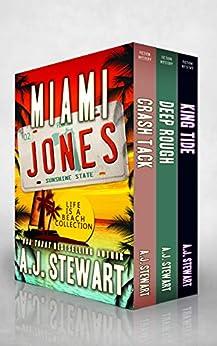Miami Jones Florida Mystery Series Box Set 2 - Books 5-7: Life is a Beach Collection (Miami Jones Omnibus) by [A.J. Stewart]