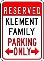 金属看板ファミリー駐車場ノベルティスズストリートサイン