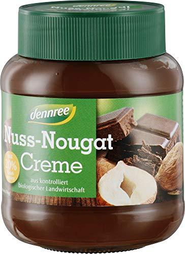 dennree Bio Nuss-Nougat-Creme 20% (2 x 400 gr)