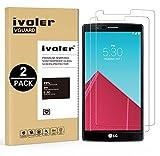 ivoler [Pack de 2] Verre Trempé pour LG G4 [Garantie à Vie], Film Protection en...