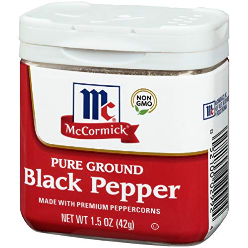 Mc cormick pure ground black pepper 42g