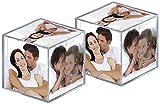 Walther Design MW100AD paquete de dos Cubos de fotos de acrílico para 6 fotos