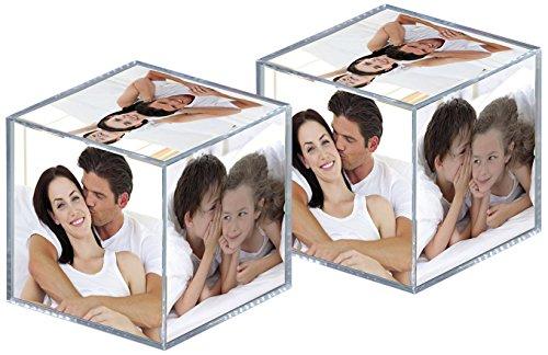 Walther Design MW100AD paquete dos Cubos fotos acrílico