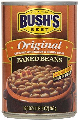 Bush's Best Original Baked Beans - 16.5 Ounce (6 Pack)