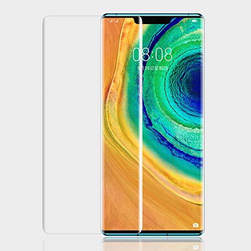 ONICO Bildschirm Schutzfolie für Huawei Mate 30 Pro,TPU Selbstheilend Anti-Bläschen 3D-Gebogenen Volle Bedeckung Folie kompatibel mit Huawei Mate 30 Pro [2 Stück]