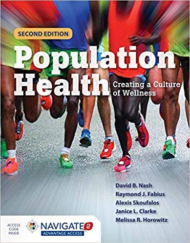 [128404792X] [9781284047929] Population Health: Creating a Culture of Wellness 2nd Edition-Paperback