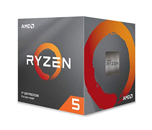 AMD processor RYZEN5 2600 socket AM4 3.9 GHz Max Boost, 3,4 GHz Base+19 MB Processor. Ryzen 5 2600 zwart