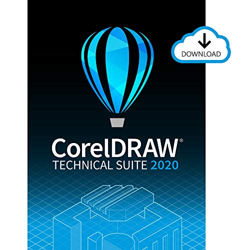 CorelDRAW Technical Suite 2020 Upgrade | Technical Illustration & Drafting Software [PC Download]