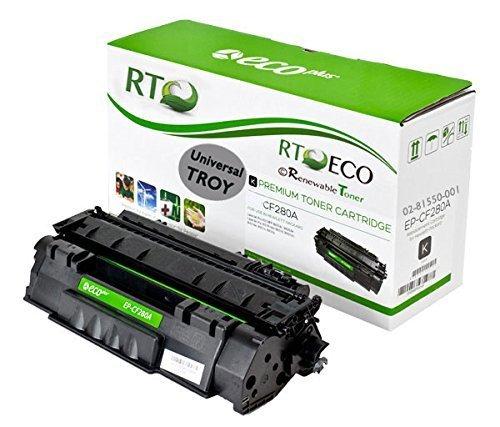 Renewable Toner Compatible Universal MICR Toner Cartridge Replacement HP CF280A 80A Laserjet Pro M401 M425 MFP