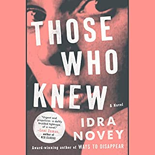 Those Who Knew audiobook cover art