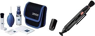 ZEISS Lens Cleaning Kit – Reinigungsset für Objektive, Filter, Brillengläser, Ferngläser und LCD Displays & Hama Reinigungsstift zur Objektiv  und Filterreinigung, 12,5 cm lang, Lenspen, Schwarz