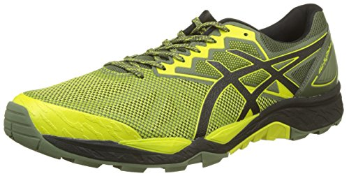 Asics Gel-Fujitrabuco 6, Zapatillas de Running para Hombre, Gris (Carbon/Black/Hot...