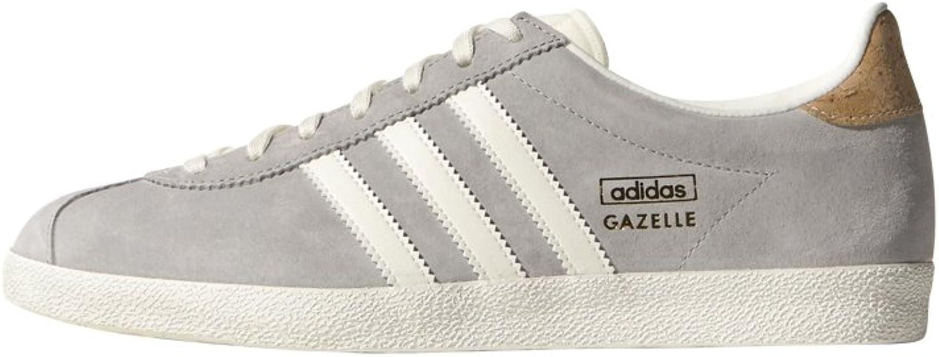 adidas Gazelle OG Gris/Liege : Amazon.fr: Chaussures et Sacs