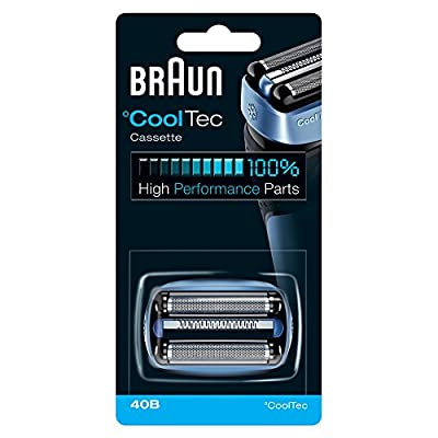Braun Shaver Replacement Part 40B Blue, Compatible with Cooltec Shavers by Procter & Gamble