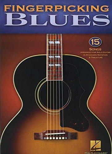 Fingerpicking Blues: Noten, Sammelband für Gitarre: 15 Songs (Guitar Tab)