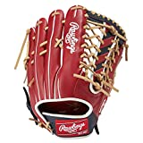 ローリングス(Rawlings) 野球用 軟式 HYPER TECH R2G COLORS [外野手用] サイズ12.5 GR1HTCB88 スカーレット/ネイビー サイズ 12.5 ※右投用