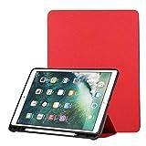Convient pour iPad Pro 9.7 (2017), étui de protection universel, étui à crayons intégré, coque...