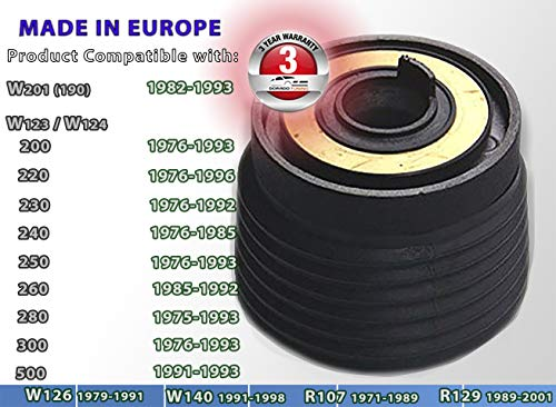 [DTi 40] DoradoTuning Lenkradnabe/Boss Adapter Kit/Nabe Schnellentriegelung / ◆ W201 ◆ W123 ◆ W124 ◆ W126 ◆ W140 ◆ R107 ◆ R129