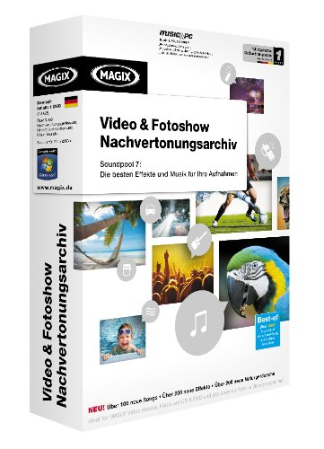MAGIX Video & Fotoshow Nachvertonungsarchiv