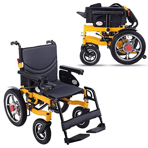 Elektrische rolstoel, draagbare, inklapbare elektrische rolstoel met 360 graden joystick-bediening, 16 inch achterwielen, 20 inch zitbreedte (250 W dubbele motor)