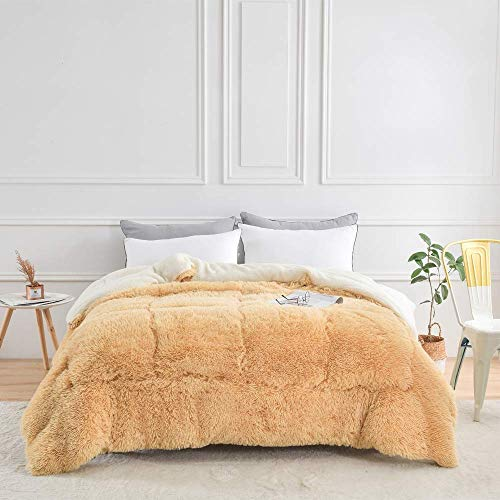 LEILEI Double blanket winter blanket with cashmere quilt 100% cotton fabric,anti dust mite and anti allergen,150 * 200cm2.5kg